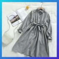 tunik 4 pilihan warna abu/ atasan wanita blouse muslim / baju hijab
