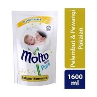 Molto Ultra Pure Baby 1600 ml / Softener Pelembut Baju Bayi 1600 ml