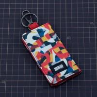 Dompet STNK Motor Mobil Kartu SIM eToll / Gantungan Kunci / Kain DS13