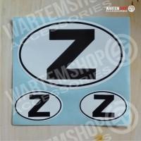 Stiker Initial Regional Z