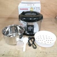 Sanken Magic Com / Rice Cooker 1.8L Stainless Steel SJ2100