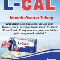 L Cal Kalsium Japan Coral