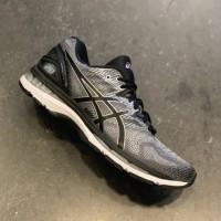sepatu Asics Gel Nimbus 20 Grey Black / Volly Voli