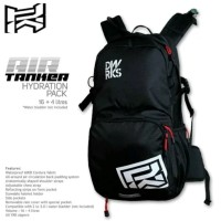 Tas Ransel Dirtworks AIR TANKER 16L plus 4L HYDRATION PACK BLACK