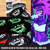 Masker K/DA Alkali Glow In The Dark League Of Legends MKR 226