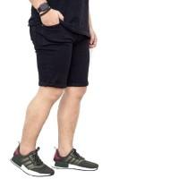 Celana Jeans Pendek Hitam / Celana Jeans Hitam / Celana Pendek Pria