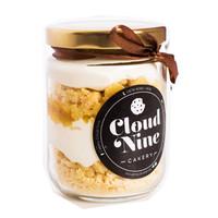 30% SALE!Jar Cake (Kue kering &Krim Keju/Cokelat) dalam toples 250 ml