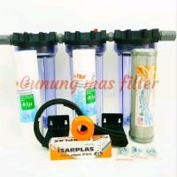 Paket Saringan Filter Air Sumur Bor Siap Pakai - WL10 Clear - SSC last
