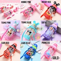 OMWshop Botol Minum Anak Original Disney Cars Sofia 530ml