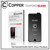 Iphone 7 Plus - COPPER Tempered Glass Full Glue ANTI GLARE / MATTE