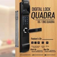 Digital Lock Onassis Quadra Door Handle / Kunci Digital Quadra