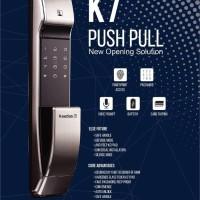 Digital Lock Kaadas K7-FP Push Pull / Kunci Pintu Digital Kaadas K7-FP