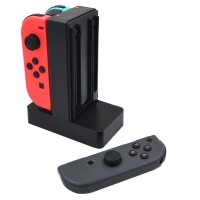Charging Dock Station Charger Stand For Nintendo Switch 4 Joy-Con 3