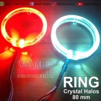 Ring LED Crystal Halos - angel Eyes 80 mm - Sepasang