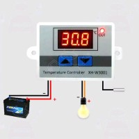 Pengatur Suhu Mesin Tetas Ruangan Thermostat Digital Termostat DC 12V