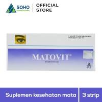 Matovit Suplemen Kesehatan Mata - 3 Strip @10 Tablet