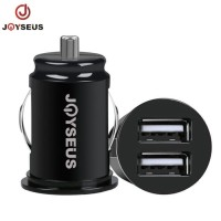 Car Charger Colokan Mobil JOYSEUS Mini Dual USB 12 v 2.1A - CM0011