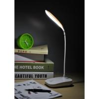 Taffled Rechargeable LED Desk Light Lampu Meja Belajar - White