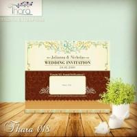 blanko kartu undangan pernikahan Thara 18