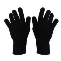 sarung tangan hitam polos