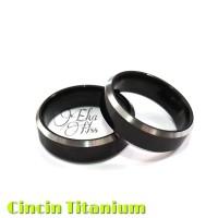 Cincin Pria Wanita Titanium xk07