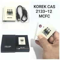 KOREK API CAS USB MANCHESTER CITY FC 2133-12 KOREK ELEKTRIK CHARGER