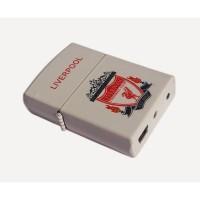 KOREK API USB LIVERPOOL 2133-2 ELEKTRIK CAS CHARGER LIGHTER MANCIS