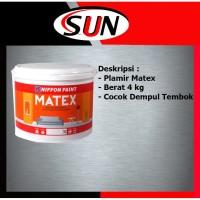 Plamir Dempul Tembok Matex 4 kg wall Putty wall filler