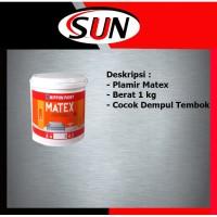 Plamir Dempul Tembok Matex 1 kg wall Filler Wall Putty