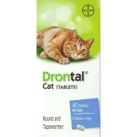 PROMO DRONTAL CAT OBAT CACING KUCING OBAT HEWAN TABLET