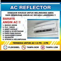 Penahan Hembusan AC / Akrilik AC / Talang AC Material Acrylic Acrilic