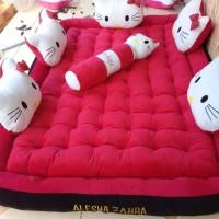 Kasur Motif Hello Kitty, Doraemon Karakter Keropi. Micky Mouse