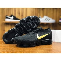 nike vapormax flyknit black gold ori premium bnib sepatu pria running
