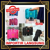 Storage Bag - Korean Easy Travel Bag foldable Tas travel hand carry