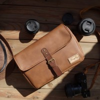 Tas Kamera Sling Bag Camera Mirrorless - Firefly Skye Syntetic Brown