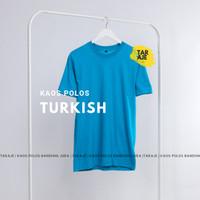 KAOS POLOS COTTON COMBED 30S WARNA TURKISH
