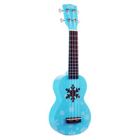 Mahalo Ukulele Soprano Snow Ice Blue MD1SN-BU 817000190