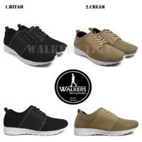 Sepatu Pria Casual Kets Walkers Tiga Sepatu Sneakers Santai Murah