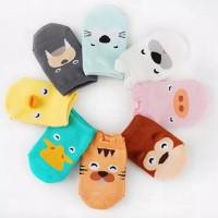 Kaos Kaki Korea Kartun Hangat Anti Slip Cartoon cotton socks baby soft