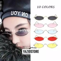 Korean GM Retro Gata Small Kacamata Hitam Wanita/Pria Fashion Sunglass