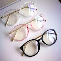 Kacamata stylish Korea glasses untuk pria dan wanita