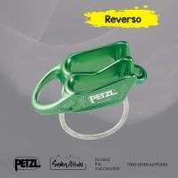 Reverso Petzl green belay device