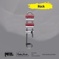 Rack Petzl Brake bar descender for long descents