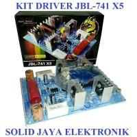 KIT SUPER DRIVER POWER AMPLIFIER JBL741 X5 JBL-741 X5 LEGEND MASTER