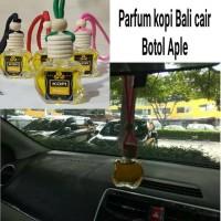 parfum kopi bali botol apel black coffee pewangi mobil pengharum ruang