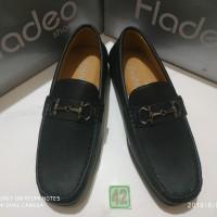 sz 42 sepatu kerja flatshoes merk fladeo