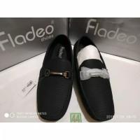 sz 44 sepatu kerja flatshoes merk fladeo