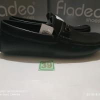sz 39 sepatu kerja flatshoes merk fladeo