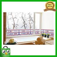 Wallsticker Wallstiker Wall Stiker Stiker Dinding 389 Paris Border