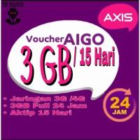 VOUCHER DATA AXIS 3GB 15 HARI 24 JAM